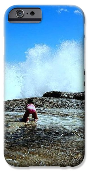 Captured The Moment iPhone Case by Imelda Sausal-Villarmino