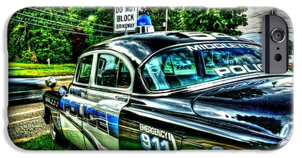 Police Cruiser iPhone Cases - Car 54 004 iPhone Case by Jeff Stallard