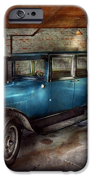 Car - Granpa's Garage  iPhone Case by Mike Savad
