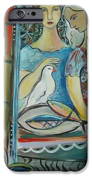 Loaves And Fish iPhone Cases - Caravan of Dream iPhone Case by Marlene LAbbe