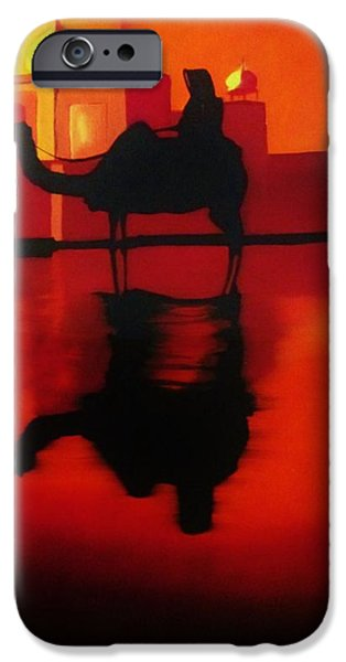 Harsh Conditions iPhone Cases - Caravan iPhone Case by Shaheer  Raazy