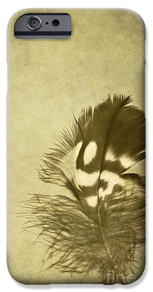 Scanography iPhone Cases - Careworn iPhone Case by Jan Bickerton