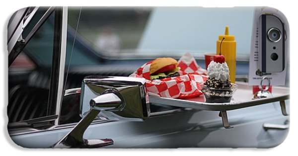 Waiter Photographs iPhone Cases - Carhop iPhone Case by Dan Sproul