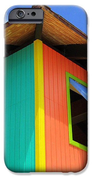 Caribbean Corner 1 iPhone Case by Randall Weidner