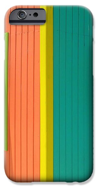 Caribbean Corner 4 iPhone Case by Randall Weidner