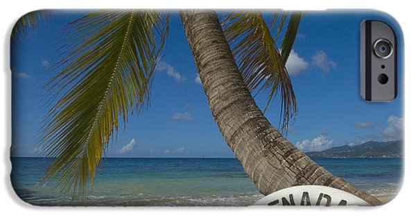 Nation iPhone Cases - Caribbean, Grenada, Life Buoy iPhone Case by Chris Parker