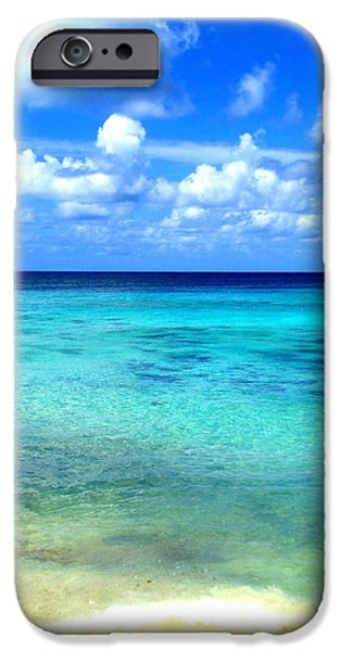 Shore Excursion iPhone Cases - Caribbean Perfection iPhone Case by Randall Weidner