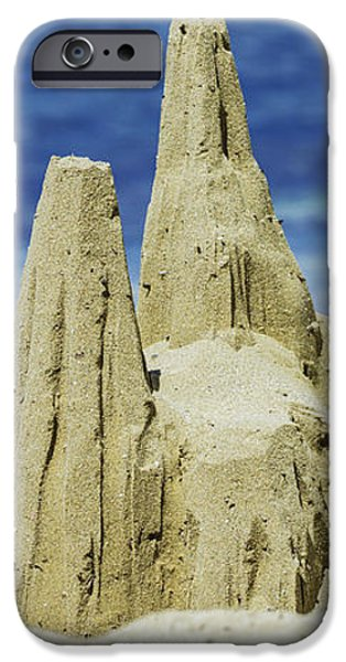 Caribbean Sand Castle  iPhone Case by Betty LaRue