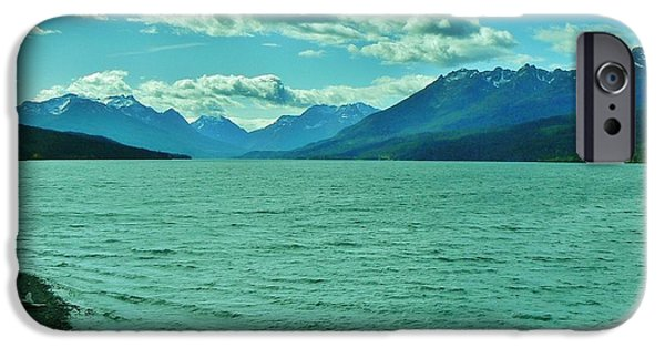By Barbara St Jean iPhone Cases - Cariboo Lake View iPhone Case by Barbara St Jean