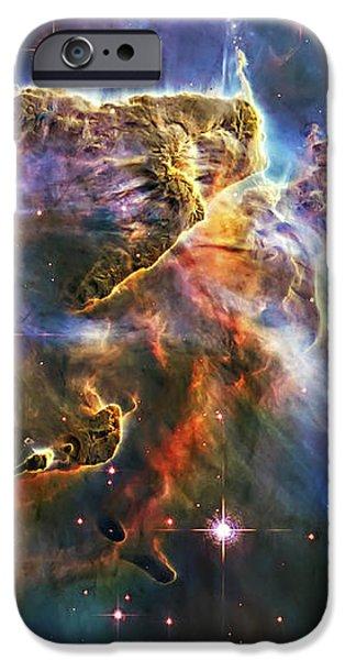 Carina Nebula 6 iPhone Case by The  Vault - Jennifer Rondinelli Reilly