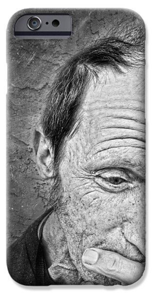 My Friend iPhone Cases - Carl 3 iPhone Case by Jerry Cordeiro