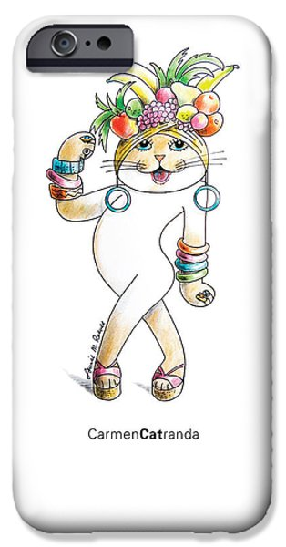 Recently Sold -  - Basket iPhone Cases - Carmen CATranda iPhone Case by Louise McClain Reeves