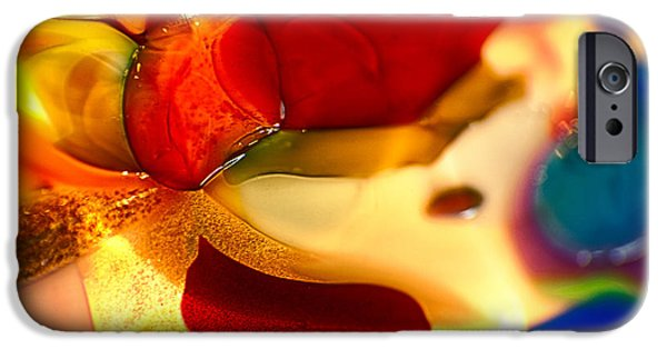 Fine Abstract Glass iPhone Cases - Carmen iPhone Case by Omaste Witkowski