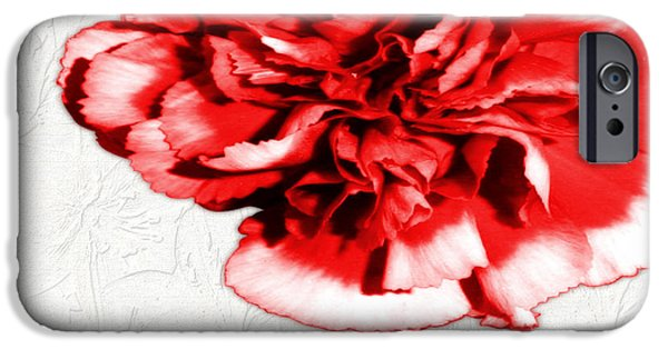 Multimedia iPhone Cases - Carnation Pink Petals iPhone Case by Tina M Wenger
