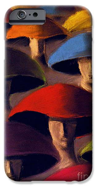 Figure iPhone Cases - Carnaval iPhone Case by Mona Edulesco