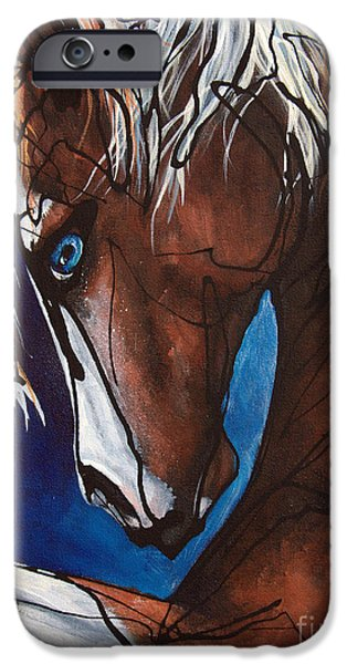 Paso Fino Stallion iPhone Cases - Carnaval Ride iPhone Case by Jonelle T McCoy