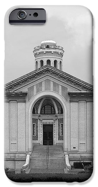 Carnegie Mellon University Hamerschlag Hall iPhone Case by University Icons