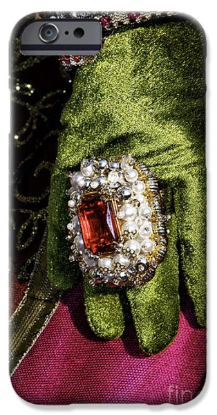 Carnival Glamour iPhone Case by John Rizzuto