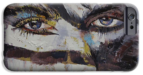 Recently Sold -  - Figures iPhone Cases - Carnival iPhone Case by Michael Creese