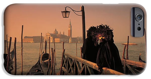 Figures iPhone Cases - Carnival Venice Italy iPhone Case by Panoramic Images