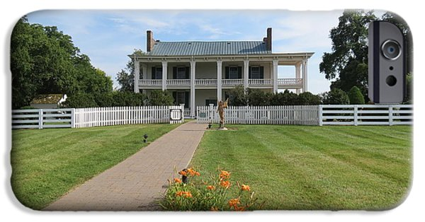 Battle Of Franklin iPhone Cases - Carnton Plantation iPhone Case by Aimee Mouw