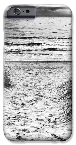 Carolina Beach Entry iPhone Case by John Rizzuto
