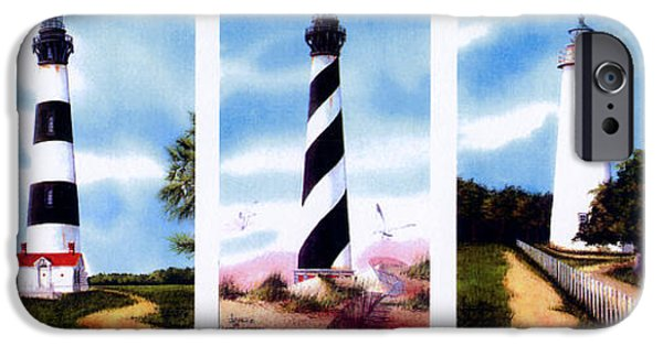 Cape Lookout iPhone Cases - Carolina Heights iPhone Case by Larry Johnson