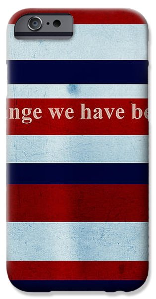 Carpe Diem Series - Barack Obama iPhone Case by Andrea Anderegg