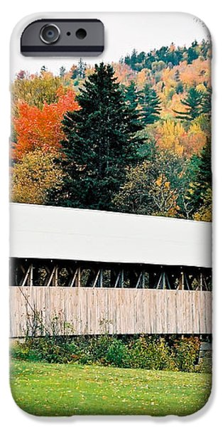 Carriage Road in Autumn iPhone Case by Debbie Lloyd