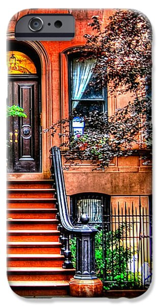 Carrie's Place - Sex and the City iPhone Case by Randy Aveille