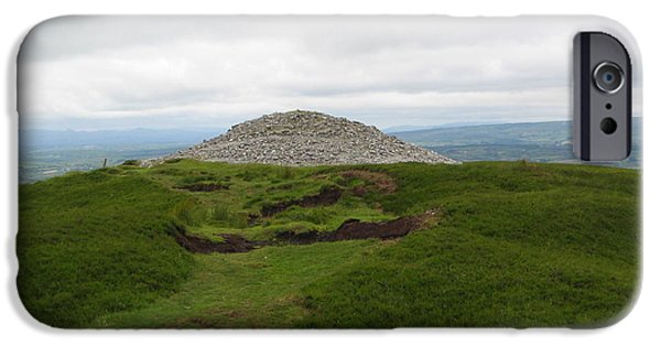 Mounds iPhone Cases - Carrowkeel iPhone Case by Denise Mazzocco
