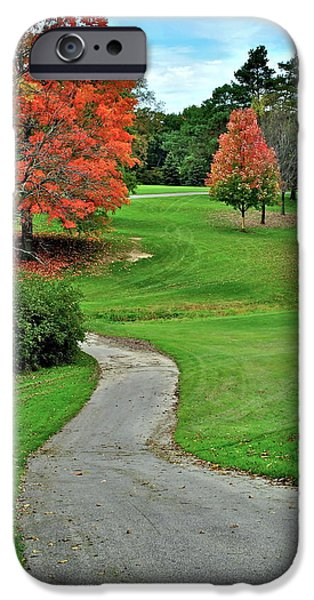 Cart Path iPhone Case by Frozen in Time Fine Art Photography