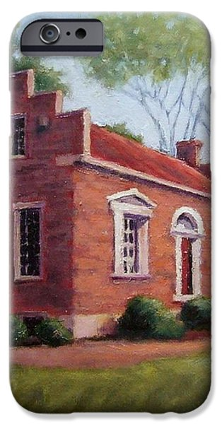 Carter House in Franklin Tennessee iPhone Case by Janet King