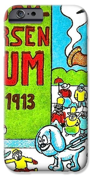 Cartoon 01 iPhone Case by Svetlana Sewell