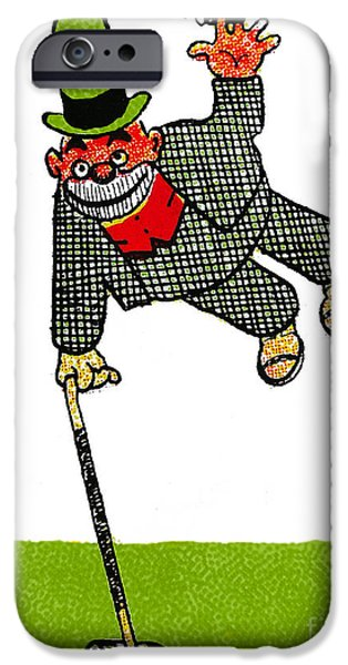 Cartoonist iPhone Cases - Cartoon 03 iPhone Case by Svetlana Sewell