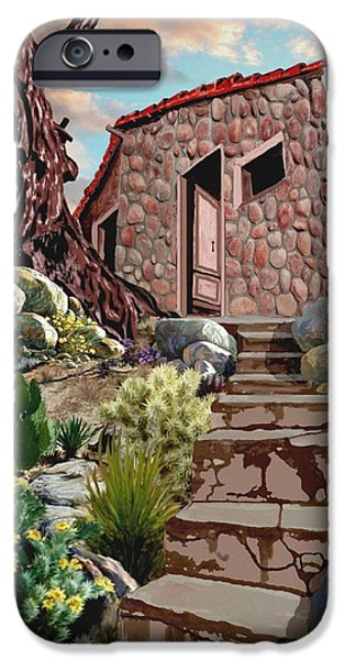 Casa Tijuana iPhone Case by Ronald Chambers