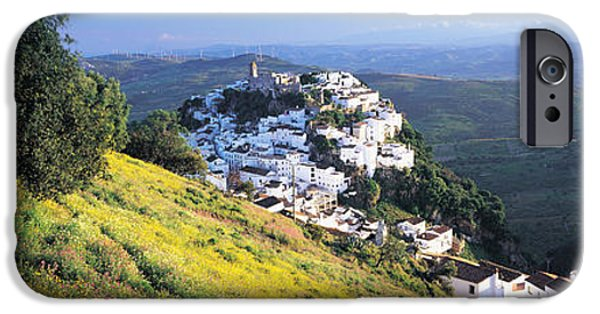 Malaga iPhone Cases - Casares, Spain iPhone Case by Panoramic Images