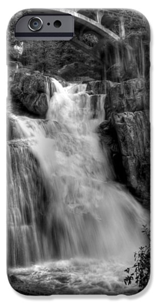 Bill Gallagher iPhone Cases - Cascade Creek iPhone Case by Bill Gallagher