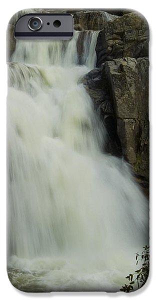 Cascade Creek Under the Bridge iPhone Case by Bill Gallagher