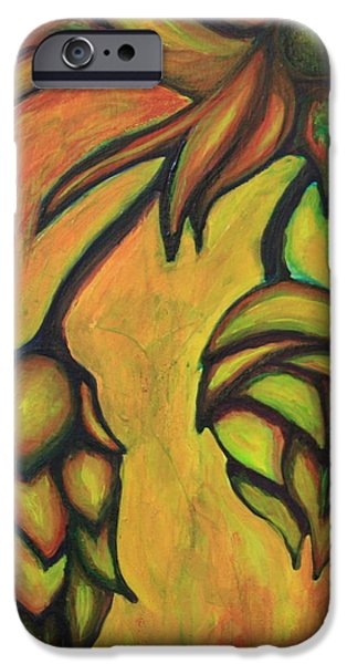 Cascade Hops iPhone Case by Alexandra Ortiz de Fargher