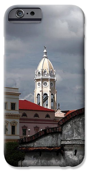 Casco Viejo iPhone Case by John Rizzuto