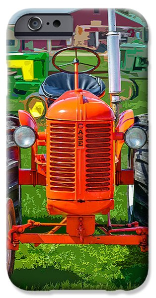 Machinery Mixed Media iPhone Cases - Case In Point iPhone Case by Brian Stevens