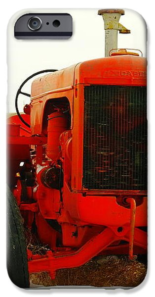 CASE TRACTOR iPhone Case by Jeff  Swan