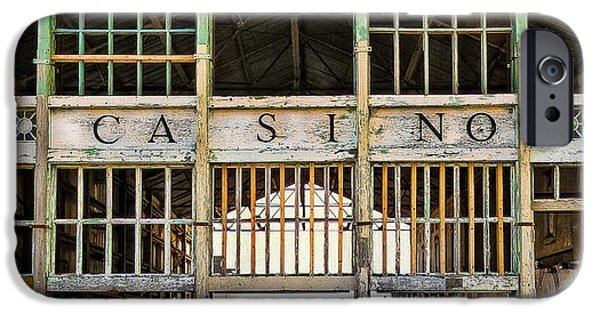 Asbury Park Casino iPhone Cases - Casino in Multi-Color iPhone Case by Colleen Kammerer