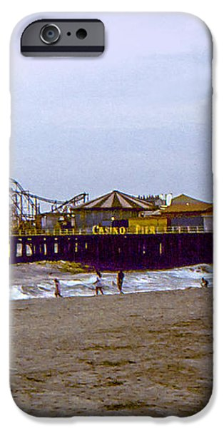 Casino Pier Boardwalk - Seaside Heights NJ iPhone Case by Glenn Feron
