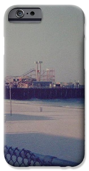 Casino Pier Seaside Heights NJ iPhone Case by Joann Renner