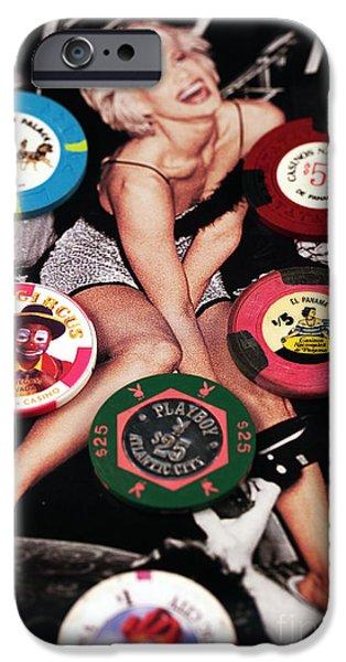 Casino Winnings iPhone Case by John Rizzuto