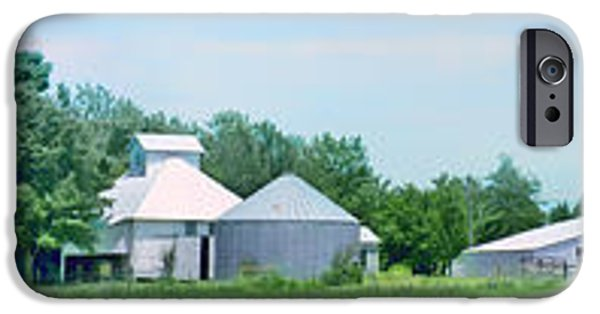 Nebraska iPhone Cases - Cass County Farm iPhone Case by Nikolyn McDonald