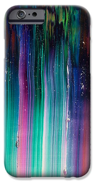 Intergalactic Space Paintings iPhone Cases - Cassiopeia iPhone Case by Chad Mars