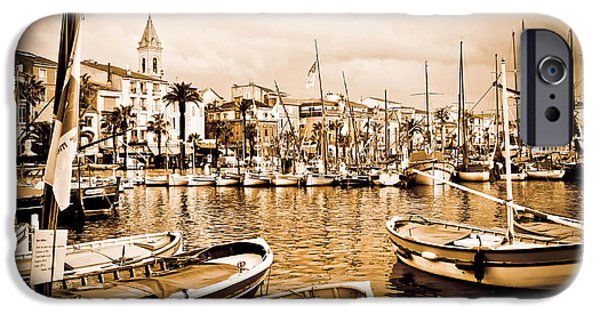 St.tropez iPhone Cases - Cassis iPhone Case by Katrina LeAndro